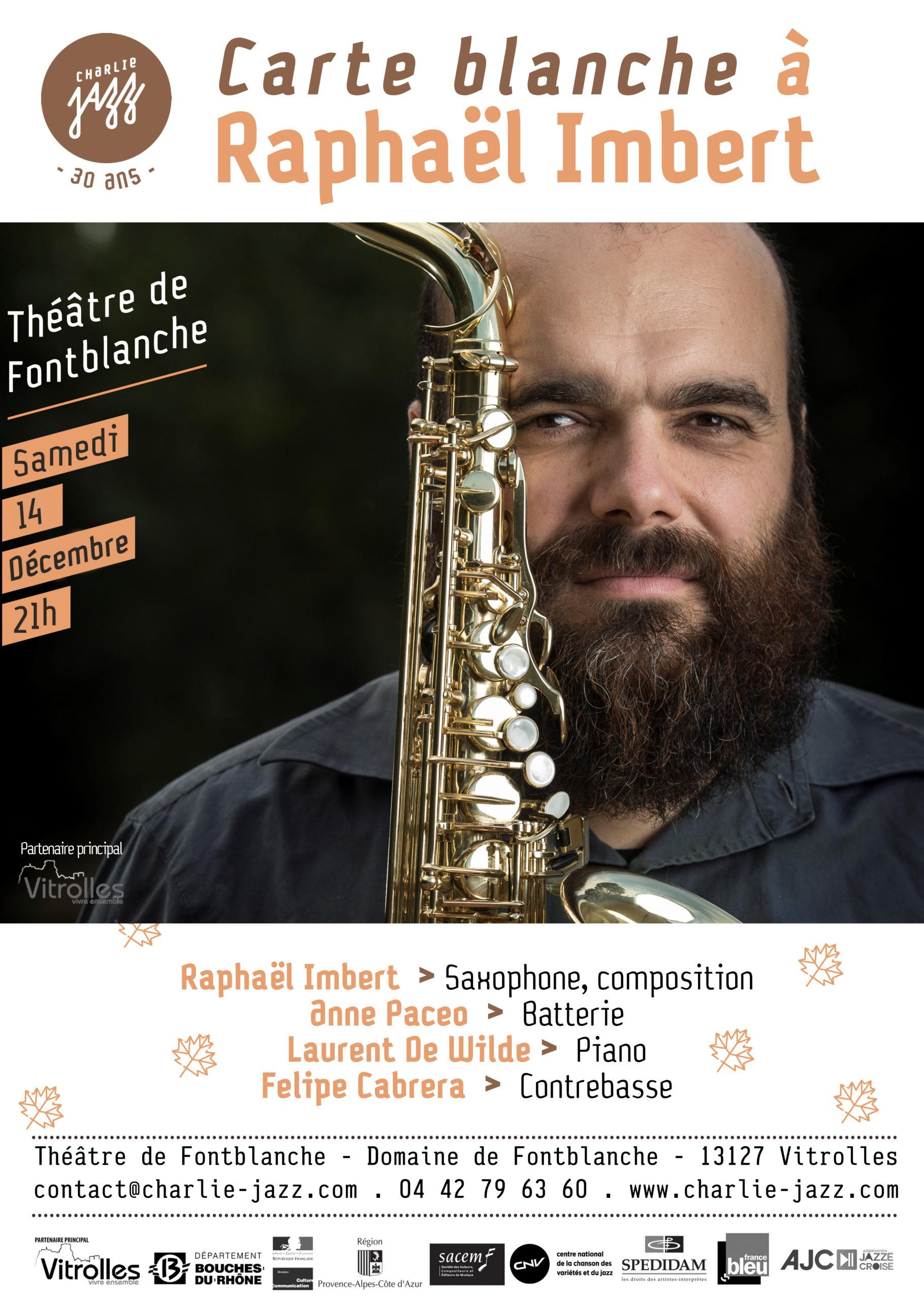 [Charlie Jazz]Raphaël-Imbert_A3-copie