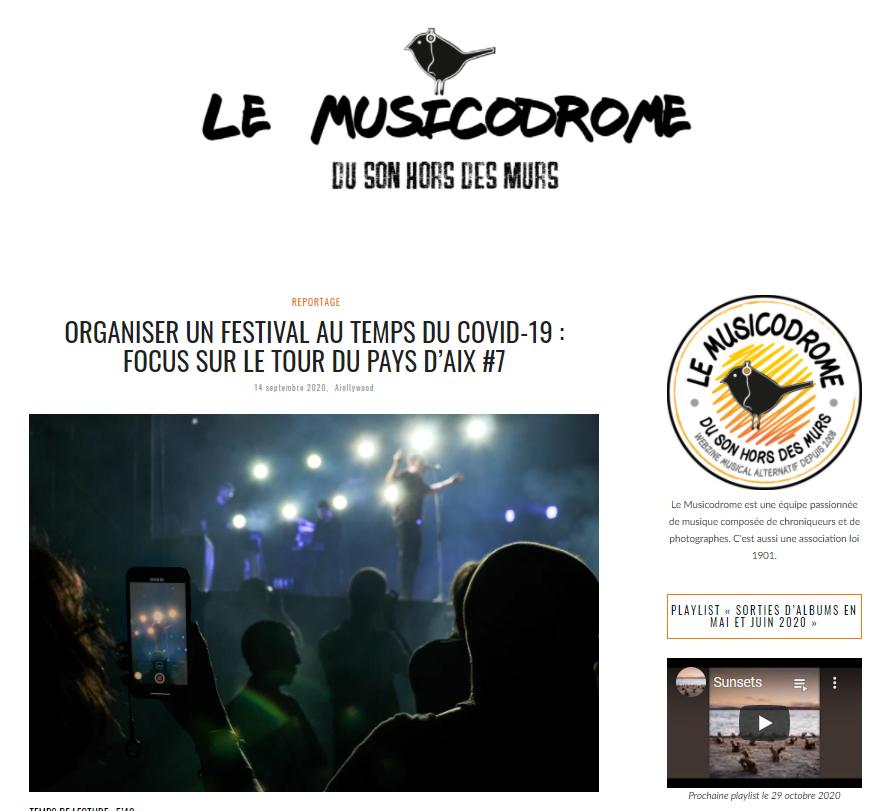 Le musicodrome 1409