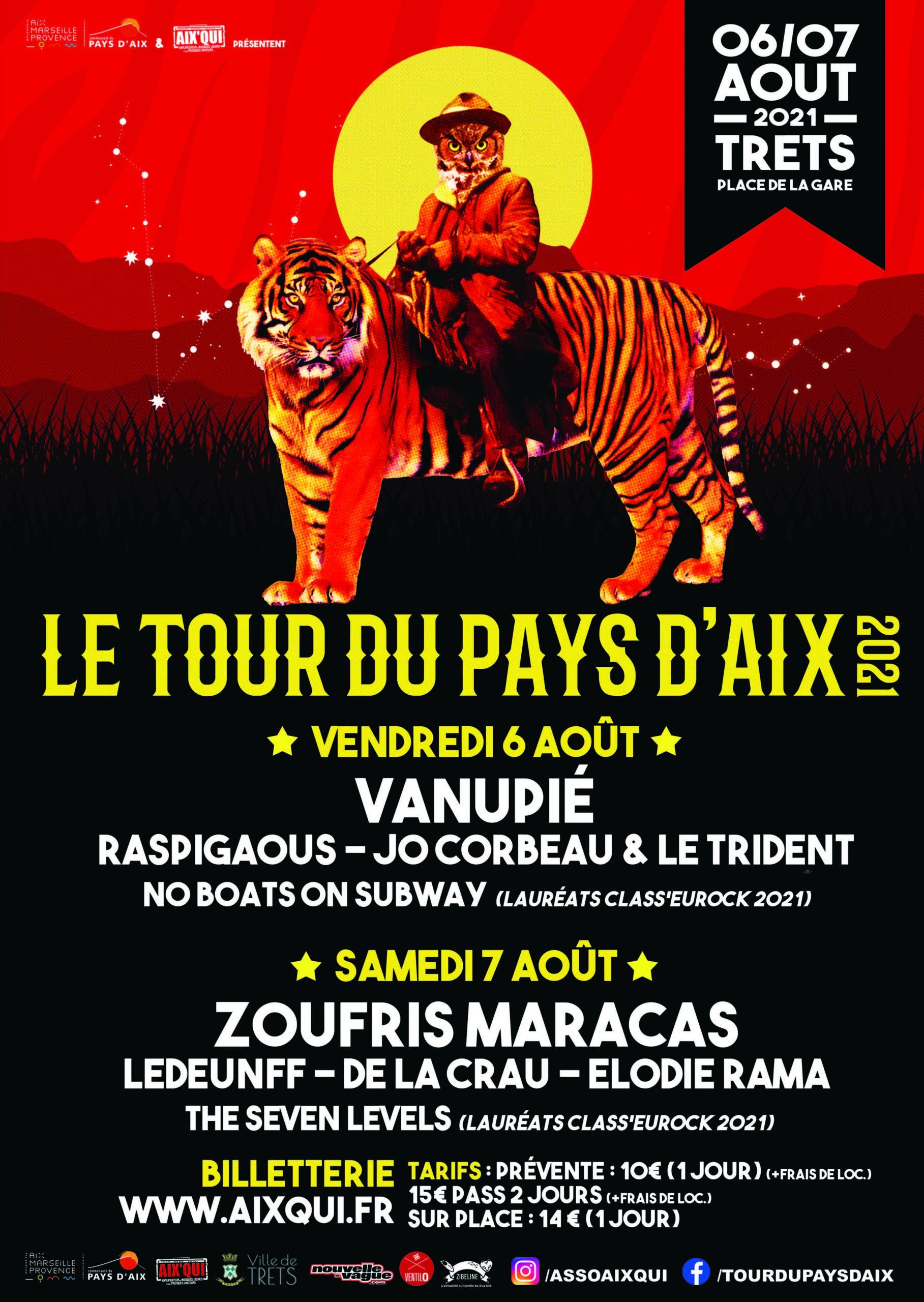 Affiche du Tour du Pays d'Aix 2021